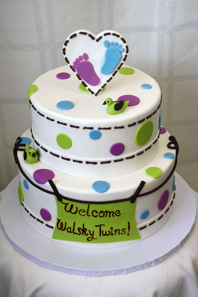 Baby Cake for Twins