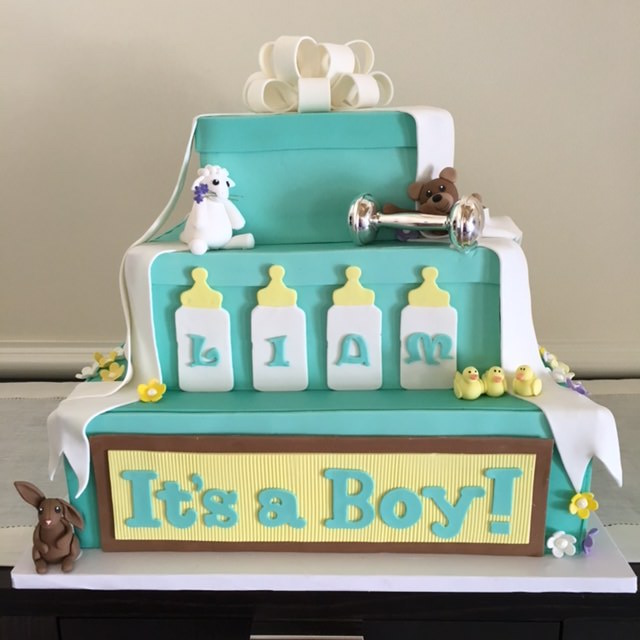 Baby Shower Cake – Its a Boy!