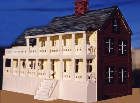 Bush Holley House Cake