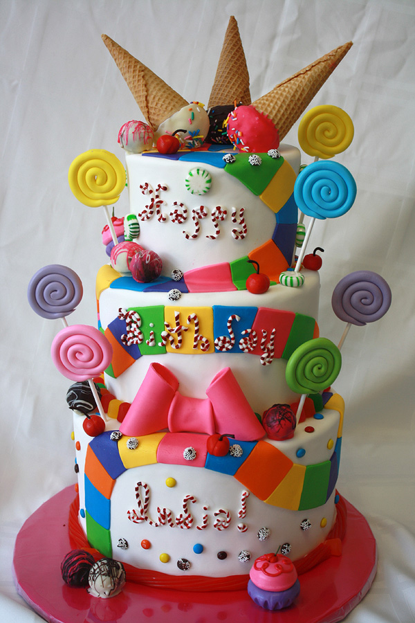 Candyland Cake By Cakesuite Serving Connecticut And New York