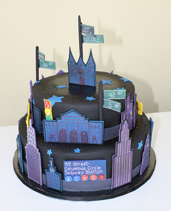 City Lights Cake