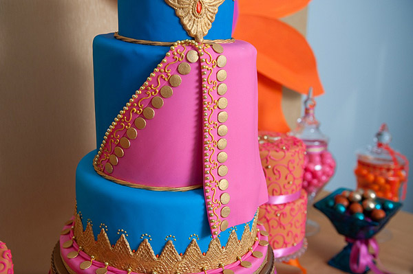 Exotic Wedding Cake