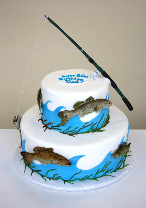 Fishing Theme Wedding Cake Back Flickr Photo Sharing