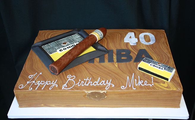 Cigar Box Cake By Cakesuite Serving Connecticut And New York