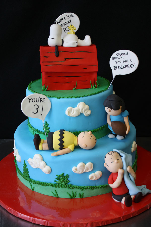 Charlie Brown Cake Decorations