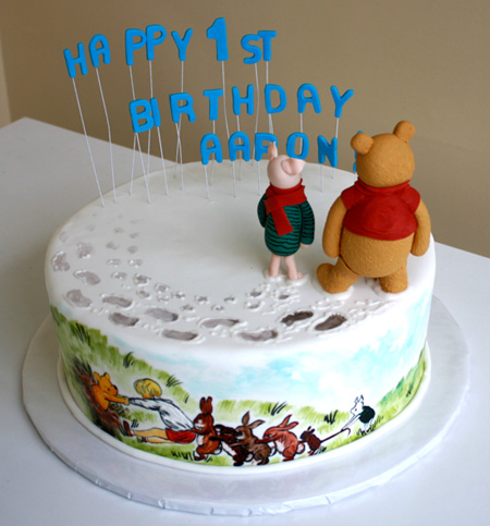 Pooh and Friends Cake