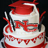 New Canaan Graduation Cake