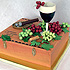 Wine and Cigar Cake